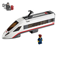 LEGO City High speed Engine from 60051 High-Speed Passenger Train - NO WHEELS