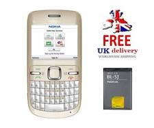 NUOVA condizione Nokia C3-00 - D'Oro Bianco (Sbloccato) Smartphone