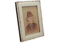 Antique Edwardian Sterling Silver Photograph Frame