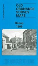 OLD ORDNANCE SURVEY MAP BACUP 1909