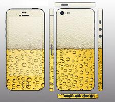 """iPhone SE 5 5S Skin """" Bier """" Sticker Designfolie Aufkleber Skins Schutzfolie"""