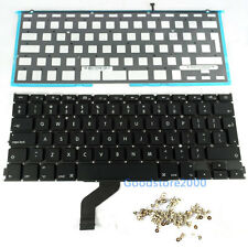 "Macbook Pro Retina 13"" A1425 UK Keyboard + BackLight ME662 MD212 MD213 2012 2013"