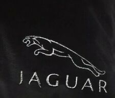 Black  Fleece Blanket With Embroidered Jaguar Style  Logo