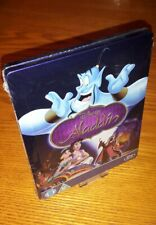 ALADDIN Disney Pixar Bluray steelbook rare OOP Zavvi region abc (ship worldwide)