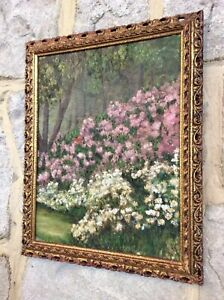 Genuine Early 1900s Oil Painting,IMPRESSIONIST,Antique Ornate Frame,Feature Wall