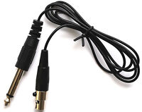 "Guitar Cable TA4F(4 pin mini XLR) to 1/4"" for Shure Wireless Transmitters"