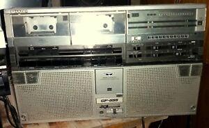 Sharp GF 555 Radio Ghettoblaster Boombox