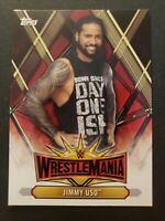2019 Topps WWE Road to WrestleMania 35 Roster #WM-33 Jimmy Uso