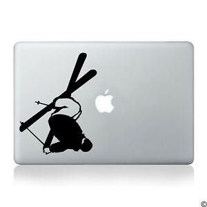Freestyle Skier Vinyl Decal - fits cars laptops windows skis and more K024