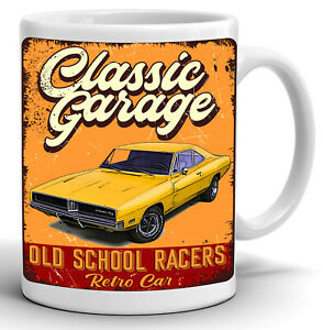 DODGE CHARGER 1969 Coffee Tea Mug Cup Gift 11oz High Quality Ceramic