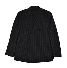 Ralph Lauren Purple Label Drake Double Breasted Wool Suit 42 R New $4695
