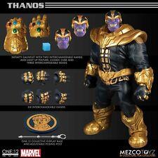 Mezco ONE:12 THANOS Marvel Comics Figure Infinity Gauntlet Lights Up New In Hand