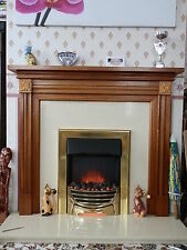 New Valor Decadent Brass Electric Fire 0582821 Flame Effect Victorian Style