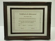 "Certificate Picture Photo Frame GRADUATION GIFT 11x14"" or A4 Size"