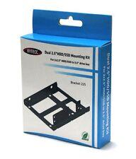 "Bytecc BRACKET-225 Dual 2.5"" HDD/SSD Metal Mounting Kit"