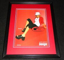 Jennifer Esposito 1999 Bongo Framed 11x14 ORIGINAL Vintage Advertisement