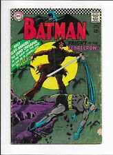 BATMAN #189 ==> VG- 1ST SA SCARECROW DC COMICS 1967 - KEY VILLAIN