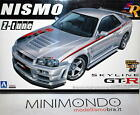KIT Z-TUNE NISSAN SKYLINE GT-R NISMO R34 1/24 AOSHIMA 04350 SERIES 81