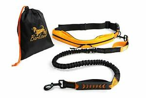 Dog Running Lead - Hands Free Dog Walking Belt - No-Pull Bungee - Athletic New