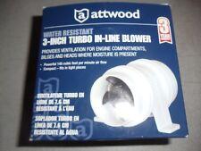 "Attwood Turbo In-Line Bilge Blower 3"" 1733-4"