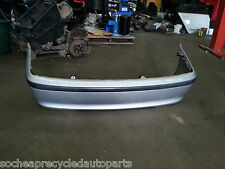BMW 318i E46 2004  MODEL WAGON REAR BUMPER BAR TITAN SILVER METALLIC GENUINE