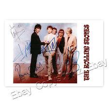 The Rolling Stones Bill Wyman, Ronnie Wood, Mick Jagger, Keith Richards, C.Watts