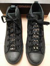 79ec05a1a971a7 Converse All Star CTAS SYDE Street Mid Triple Black SPIKED TONGUE