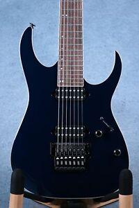 Ibanez RG2027XL DTB Prestige Dark Tide Blue Electric Guitar W/Case - F2103462