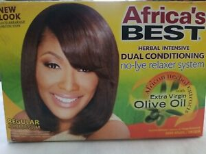 *AFRICA'S BEST HERBAL INTENSIVE DUAL CONDITIONING RELAXER/REGULAR* BB 2024 New