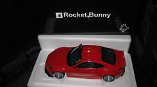 AUTOART 1.18 ROCKET BUNNY TOYOTA 86  RED/SILVER WHEELS AWESOME LOOKING CAR 78757