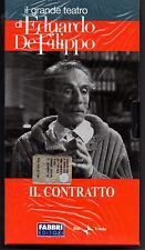EDUARDO DE FILIPPO - IL CONTRATTO - FABBRI-RAI 2003  -  VHS SIGILLATO