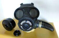 Gasmaske kanadisch/britische C3/M69 mit Filter und Faltenschlauch -unbenutzt-