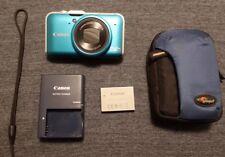 Canon POWERSHOT SX230 HS 12.1MP 14x Zoom Digital Camera w/ GPS-LikeNew Condition