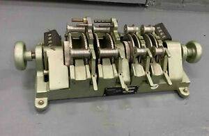 Film Synchronizer - 4-Gang 16-35mm w/2 counters in excellent working condition