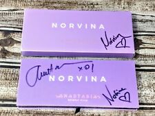 Anastasia Beverly Hills Norvina Eyeshadow Palette Authentic Autographed pkg New!