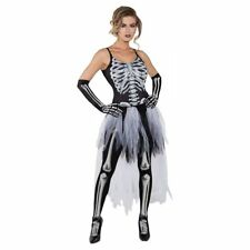Sexy Skeleton Costume Adult Halloween Fancy Dress Large NEW
