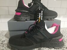 New Balance 997 Cordura Black Pink Men's Size 10.5 MS997SBP Lifestyle Shoe NEW