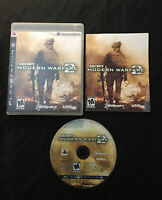 Call of Duty Modern Warfare 2 — CIB! Manual Included! (PlayStation 3, ps3, 2009)
