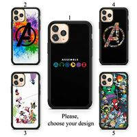Marvel Avengers case for iphone 11 12 XR Pro SE Max X XS 8 plus 7 6 TPU cover SN
