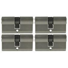 4 Pz 70mm Rame Puro Doppia Sfera Latch Clip Serratura Porta Gabinetto Catture Perle di Tocco Bronzo Ottone Colore Hardware Accessori