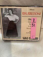 Franco Alfano/Giacomo Puccini: Risurrezione/Turandot (CD, Standing Room Only)