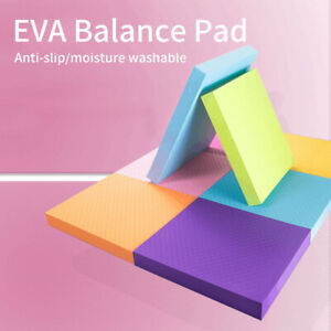Home Standing Mat Fitness EVA Foam Physical Therapy Non Slip Cushion Balance Pad