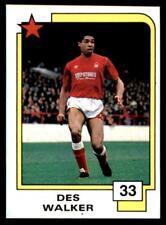 Panini Soccer Cards 1988 - Des Walker # 33