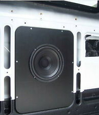 Subwoofer mounting panel for NCV3 Sprinter Van