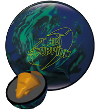 Hammer The Scorpion Pearl Green Blue 15LB Very Rare Overseas Bowling Ball