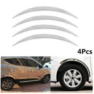 Car Wheel Eyebrow Arch Trim Lip Fender Stickers Anti-scratch Protector Strips