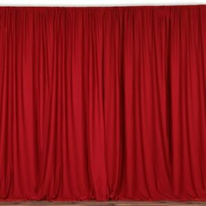 lovemyfabric 100% Polyester Window Curtain/Stage Backdrop/Photography Backdrop