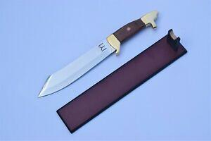 Ertugrul Dagger Resurrection knife Handmade Movie Dagger with Leather Sheath.