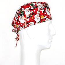 Christmas Santa Theme Scrub Hat