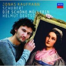 "JONAS KAUFMANN ""SCHUBERT DIE SCHÖNE MÜLLERIN"" CD NEU"